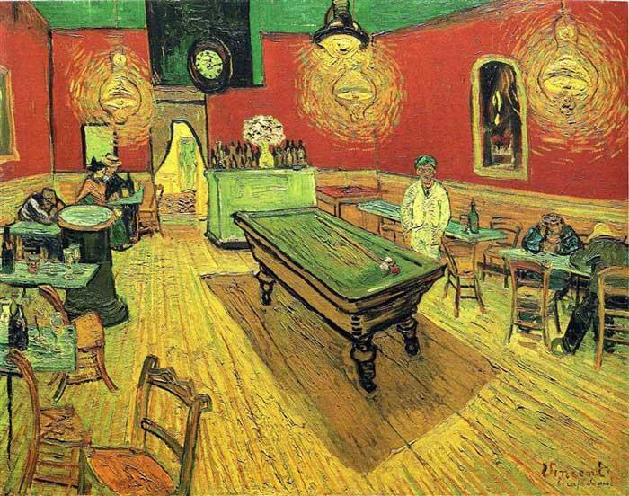 Винсент Ван Гог, Ночное кафе, 1888