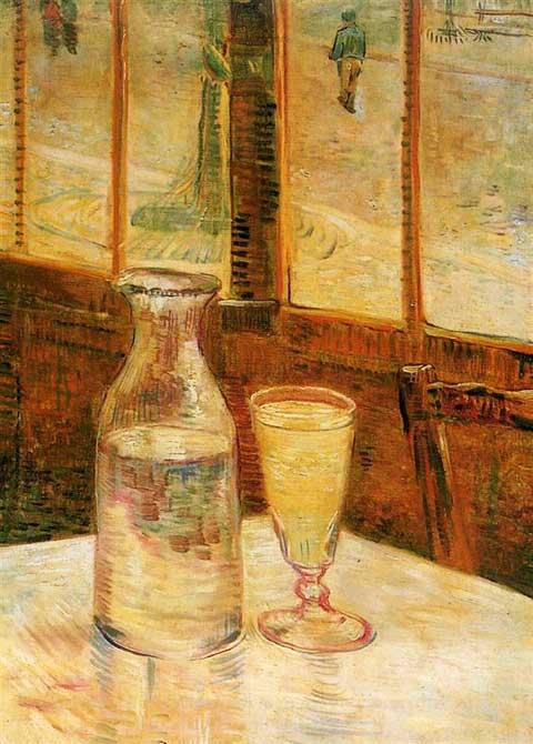 Винсент Ван Гог, Абсент, 1887