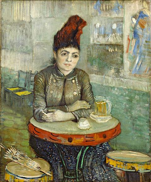 Винсент Ван Гог, Агостина Сегатори в кафе «Тамбурин», 1887-1888