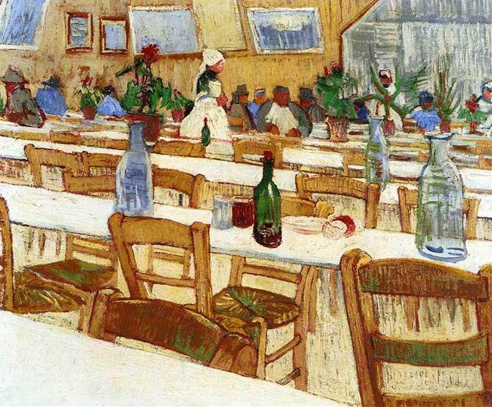 Винсент Ван Гог, В ресторане, 1887