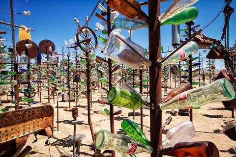 Бутылочное ранчо в Калифорнии