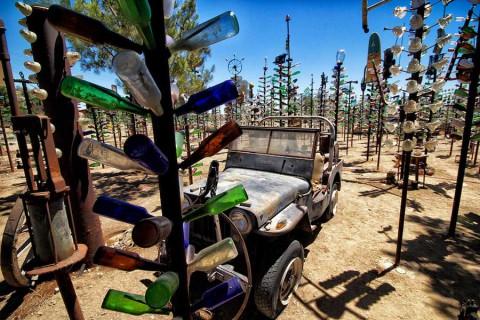 Ранчо деревьев из бутылок, Калифорния