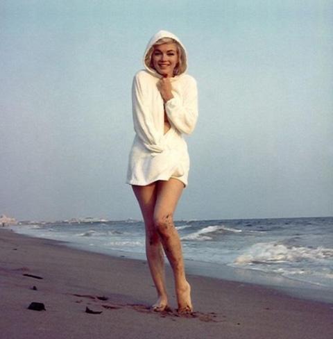 Мэрилин Монро, последние фото, Санта-Моника, 1962, фотограф Джордж Баррис