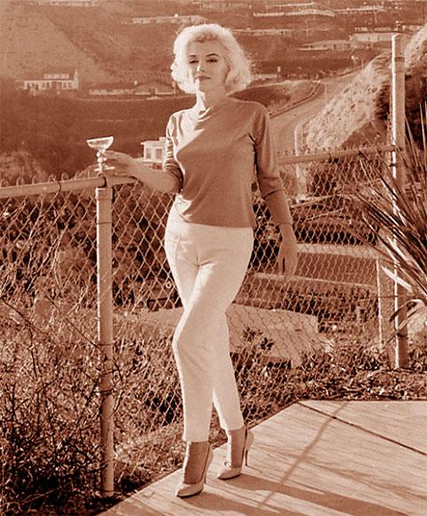 Marilyn Monroe by George Barris, July, 1962